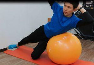 サイドベンド 腹斜筋の強化