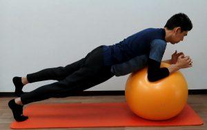 プランク 体幹強化、バランス力強化